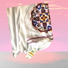 Load image into Gallery viewer, INC International Concept White Embroidered Blouse - Pale Ale Boutique