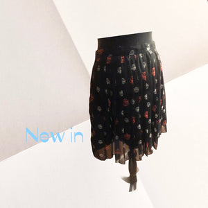 Pleated Owl Skirt - Pale Ale Boutique