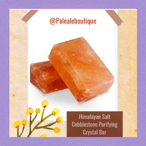 Himalayan Salt Cobblestone Purifying Salt Bar - Pale Ale Boutique
