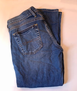 Lucky Brand Ladies Crop Jeans Sz6 - Pale Ale Boutique