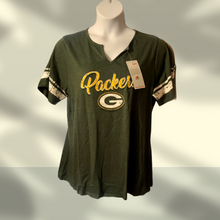 Load image into Gallery viewer, Ladies Green Bay Packer T-shirt - Pale Ale Boutique