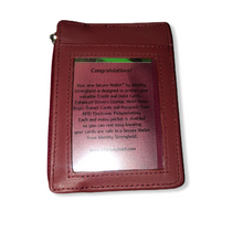 Load image into Gallery viewer, Identity Stringhold RFID Blocking Mini Wallet - Pale Ale Boutique