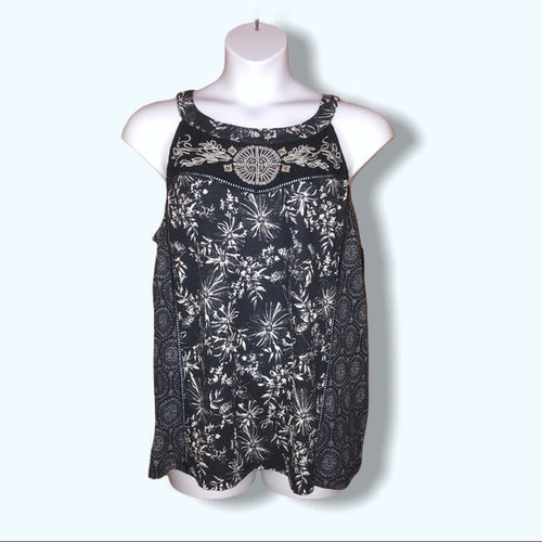 Style & Co Navy Sleeveless Top NWT - Pale Ale Boutique