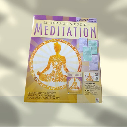 Mindfulness Meditation Book & Affirmation Kit - Pale Ale Boutique