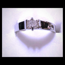 Load image into Gallery viewer, Sterling silver CZ ring - Pale Ale Boutique