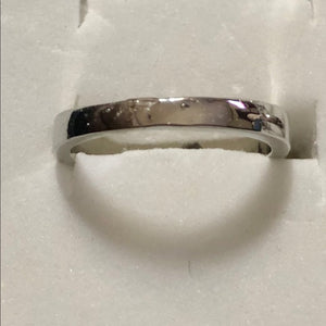 Sterling silver CZ ring - Pale Ale Boutique