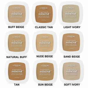 L'oreal True Match Mineral Powder - Pale Ale Boutique