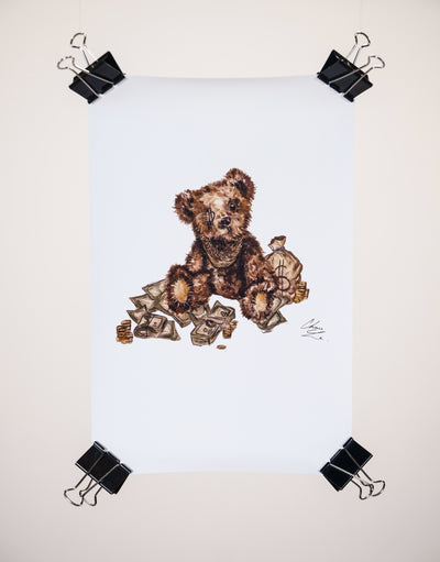 Milli the Bear Poster