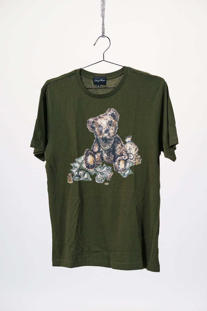 Milli Mascott Bear T Shirt - Green