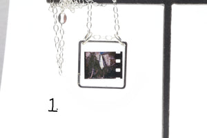 Yosemite Viewmaster Images Silver Necklaces