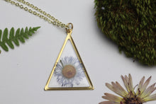 Load image into Gallery viewer, Daisy - Purple Triangle Necklace
