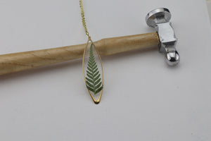 Rock Fern Necklace