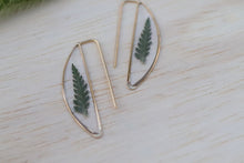 Load image into Gallery viewer, Fern Crescent Earrings