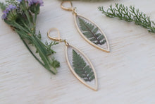 Load image into Gallery viewer, Fern Marquise Earrings