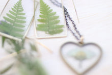 Load image into Gallery viewer, Fern Earrings Unique Large Rectangle
