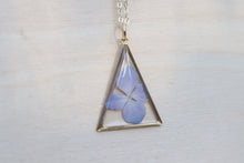 Load image into Gallery viewer, Hydrangea Triangle Necklace