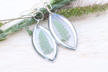 Load image into Gallery viewer, Fern Earrings Silver