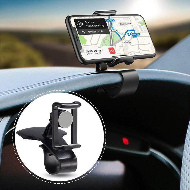 360-Degree Rotation Car Phone Holder