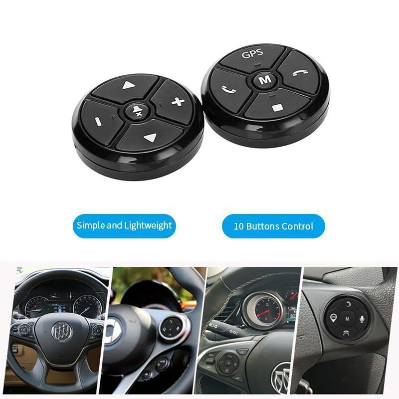 Wireless Car Steering Wheel Media Remote Control