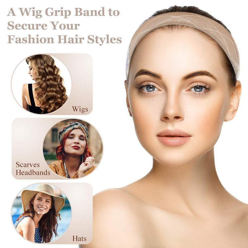 Adjustable Hair Bands For Wig In Velvet