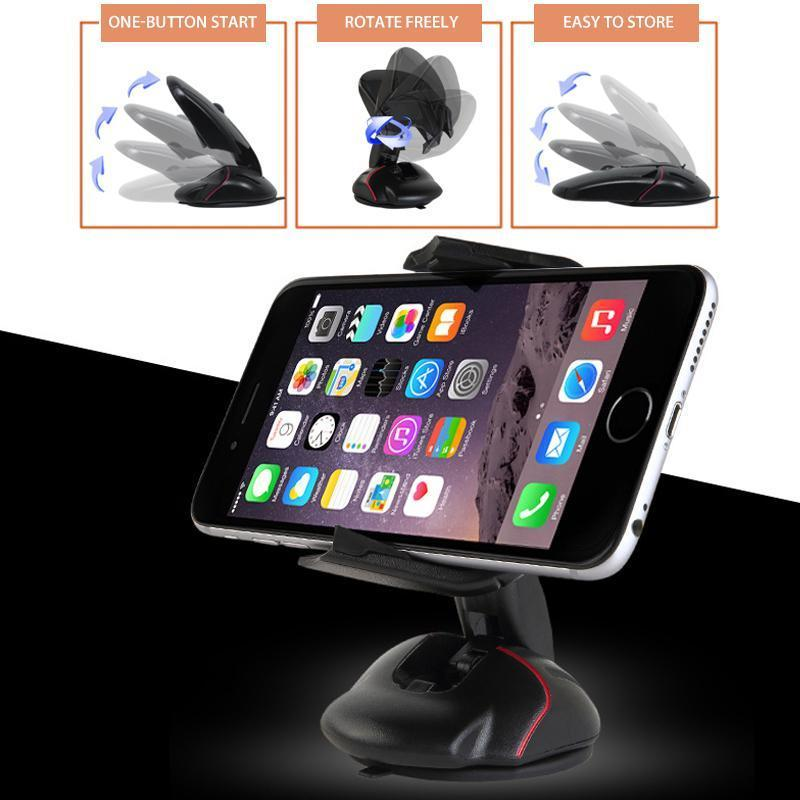 Rotating Mouse Phone Holder Car Bracket