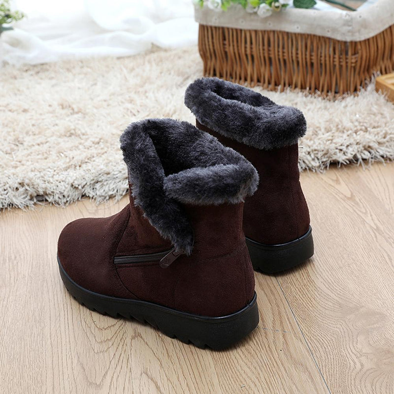 Hirundo Fur Lined Womens Snow Boots