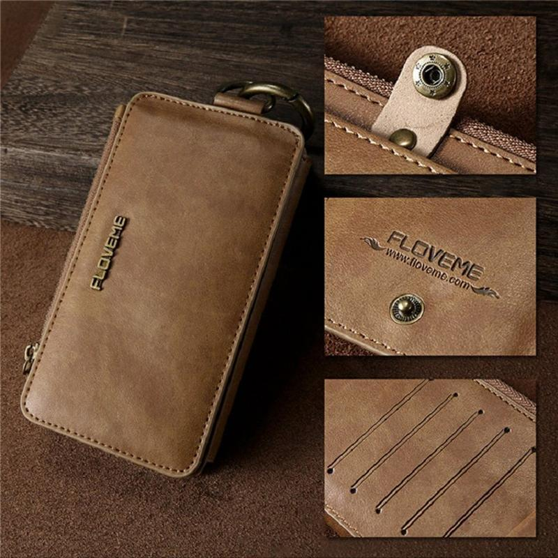 Vintage classic commercial wallet for cell phone