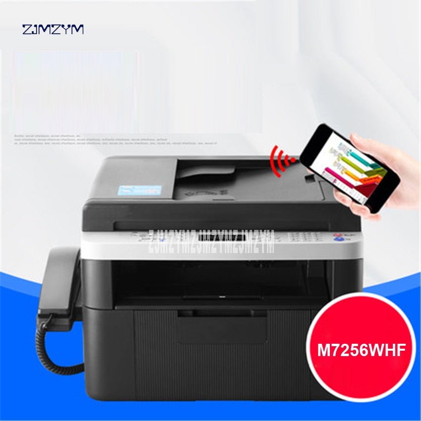Business A4 Printer Office Domestic Copying Scanning Printer Laser Multifunction All in One Printing Integrated Machine M7256WHF