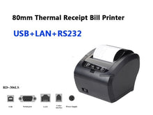 Load image into Gallery viewer, High Quality 80mm Thermal Receipt Printer Auto cutter Bill printer WIFI/Bluetooth/USB/LAN/RS232 Kitchen Restaurant POS printer