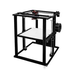 400-400-500 large size coreXY semi-assembled DIY 3D printer with heated bed with meanwell power supply high quality build plate