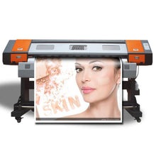 Load image into Gallery viewer, 6ft/1.8m Large Format Outdoor PVC Banner Vinyl Sticker Printer Eco Solvent Printing Machine With CMYK 4 Colors