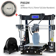 Load image into Gallery viewer, Best Tronxy P802M Auto Level 3D Printer DIY full kits Direct Extruder MK3 heatbed 3D Printing 3DCSTAR P802-MHS