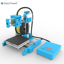 Load image into Gallery viewer, EasyThreed Small Mini 3d Printer Cheap PLA Resin FDM Mini Impressora 3d Brasil Russian Warehouse DIY Kits Gift Imprimante X1
