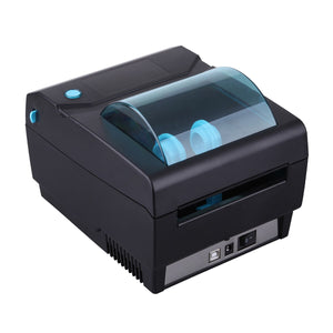 Newest Cheap Office Supplies Black 108mm USB Thermal Barcode Printer with Label Paper Auto Detection