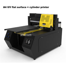 Load image into Gallery viewer, A4-2135 UV Printer Automatic Universal Plate Marking Machine 100W 110-220V For Mobile Phone Cell Cylinder Wood Glass Printing