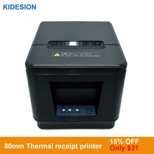 Load image into Gallery viewer, New arrived 80mm auto cutter thermal receipt printer POS printer USB or LAN port  for Kitchen/Restaurant printer POS printer