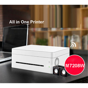 M7208W Black And White Laser Machine All in One Printer Copy Scan Wireless Wifi Home Office Print Speed 22Pages/Minute220V