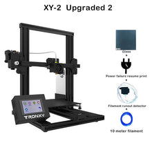 Load image into Gallery viewer, Newest Tronxy XY-2 3D Printer Heat bed Build Surface Platform 220*220mm 3D Continuation Print Power FDM 3d Printing PLA Filament