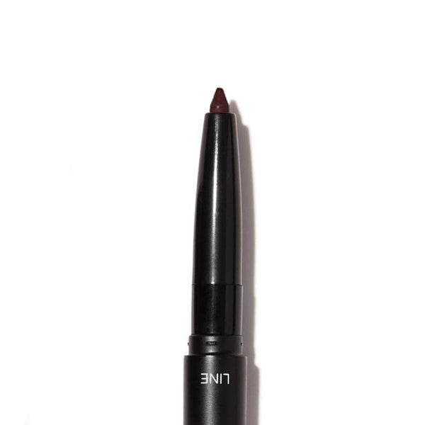 Lip Liner & Blending Brush - Dark Brown