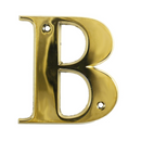 House Door Letters - Gold Letter B