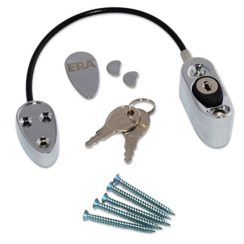 Safety & Security Locking Cable Restrictor For Windows & Doors