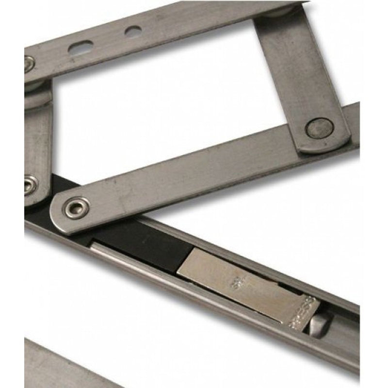 Security Restricted Window Hinges Friction Stay Top Hung - 16 Inch