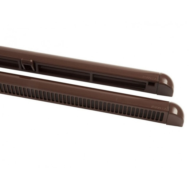 Trickle Vent for uPVC and Timber Windows - Brown