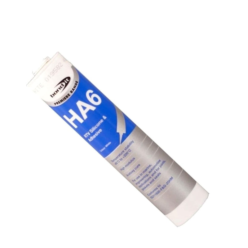 HA6 Marine Aquarium Fish Tank Silicone Sealant 310ml - Brown
