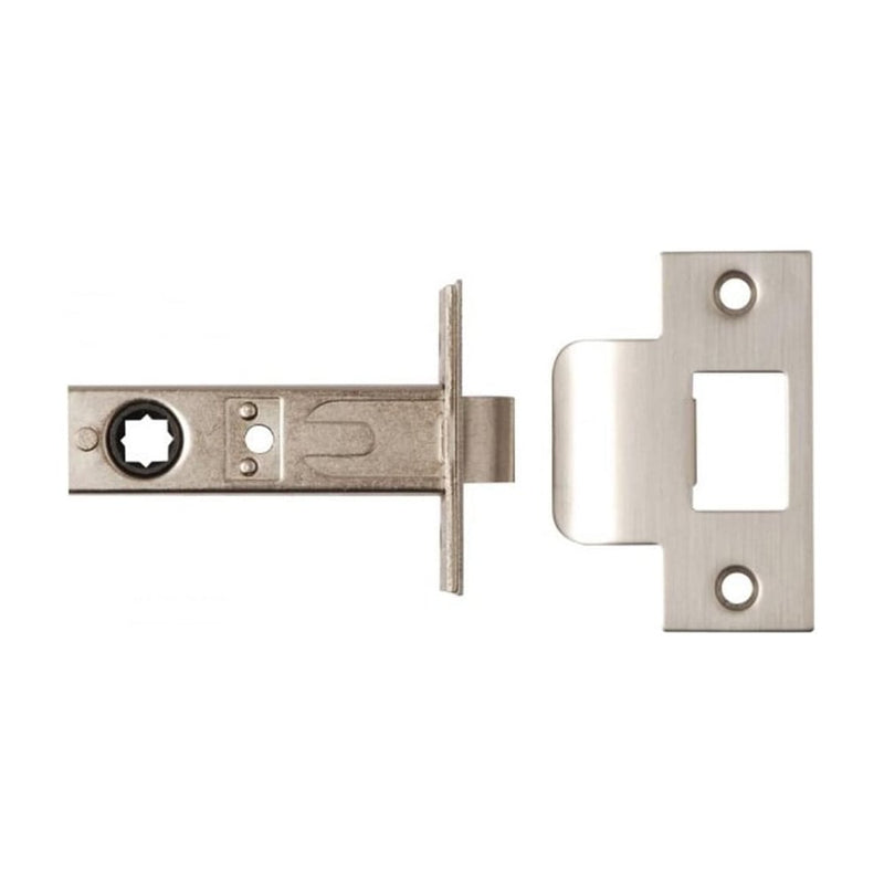 Lever On Rose Designer Handles Satin Nickel Polished Chrome 3625-PRV