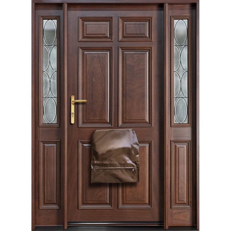 Fire Proof Retardant Letterbox Bag. Internal Letter Box Security Cover