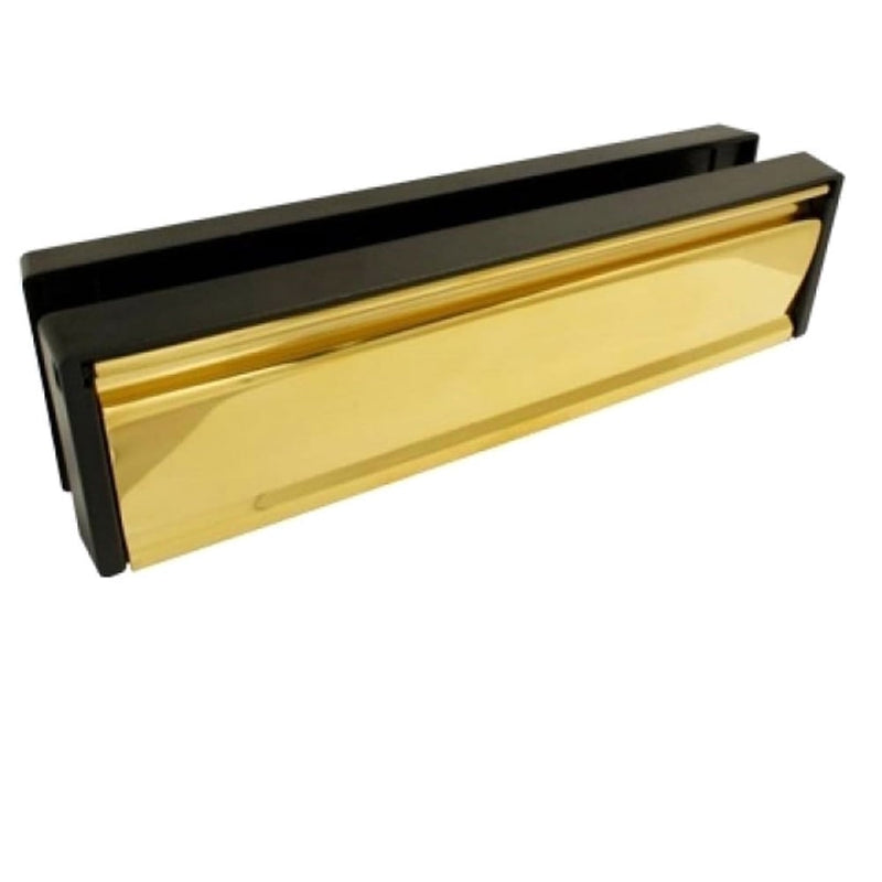 UPVC Door Letterbox Anti Snap - Gold PVD