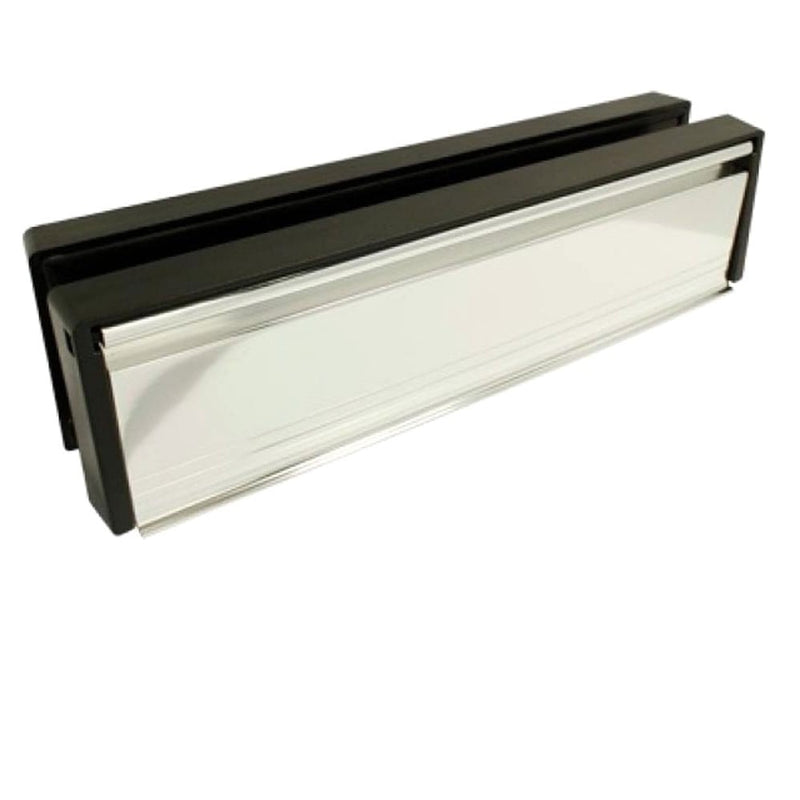 UPVC Door Letterbox Anti Snap - Stainless Steel (Polished)