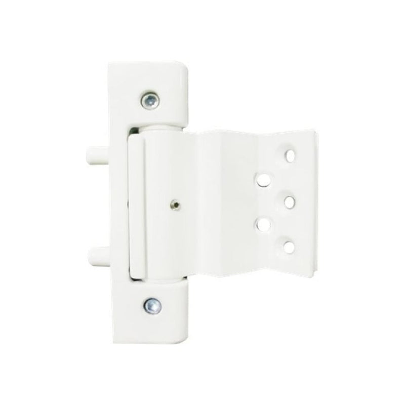 UPVC Rebated Butt Door Hinge - White