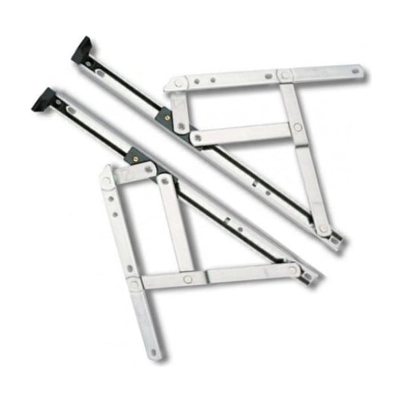 UPVC Window Hinges Friction Stays. Standard Opening. 8""